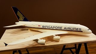 Singapore Airlines A380 - Painting Time-lapse **4K/60fps**