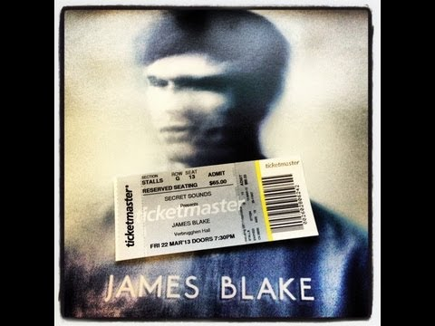 JAMES BLAKE Live SYDNEY March 2013 (Full Concert) (320 Audio)