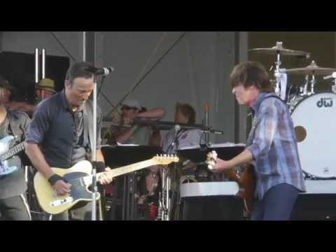 Bruce Springsteen and John Fogerty with Green River JazzFest 2014 New Orleans