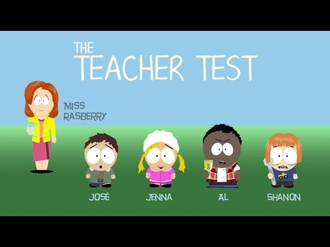 The Teacher Test - Family History