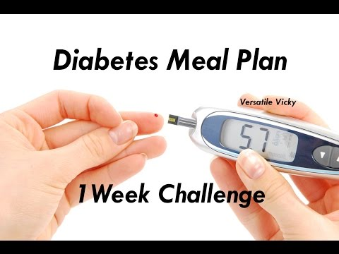 Weight Loss Diet / Meal Plan for Diabetics / Control Blood Sugar Fast / Control Diabetes in 1 Week