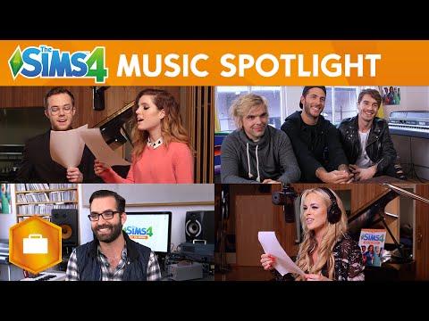 The Sims 4 Get To Work: Simlish Music Spotlight