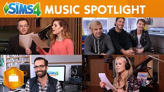 The Sims 4 Get to Work: Simlish Music Spotlight