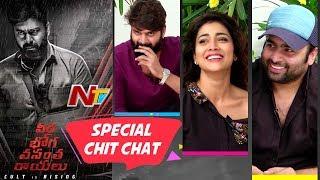 Veera Bhoga Vasantha Rayalu Movie Team Special Chit Chat | Shriya Saran | Sree Vishnu | Nara Rohit