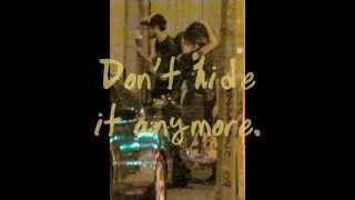 Robert Pattinson and Kristen Stewart on Robsten in Love - kiss