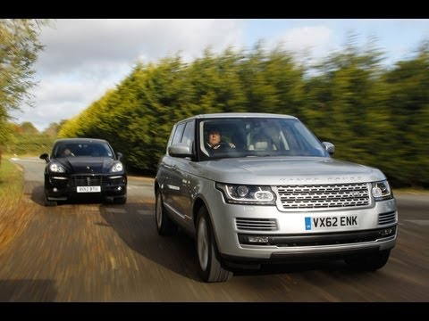Range Rover v Porsche Cayenne tested on-road - autocar.co.uk