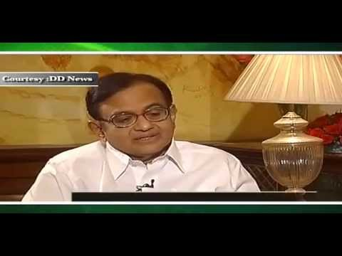 An Interview with Finance Minister P Chidambaram