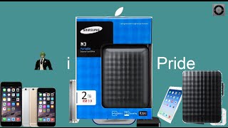 Unboxing HD externo 2TB Samsung