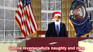 Barack O'Claus is Comin' to Town