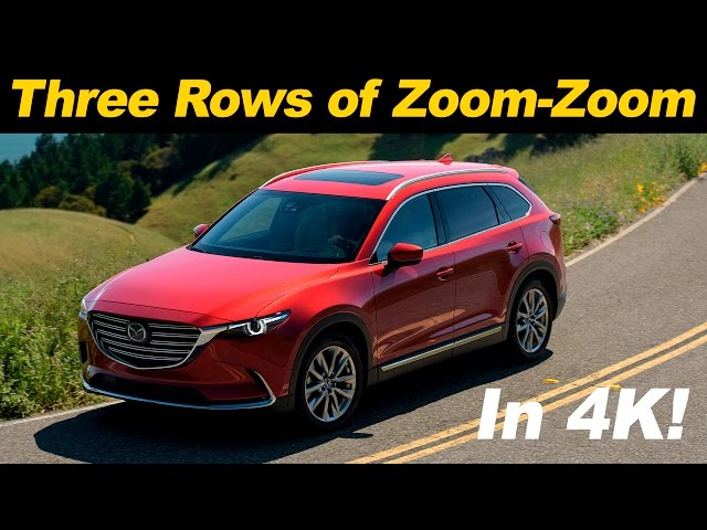 2016 / 2017 Mazda CX-9 First Drive Review | in 4K UHD ...