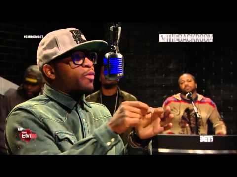 Eminem & Slaughterhouse And Big Tigger - 106 & Park The Backroom (Freestyle)