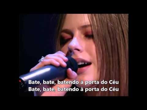 Avril Lavigne   Knockin' on Heaven's Door 1