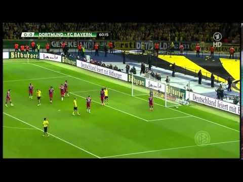 DFB-Pokal 2014 Final Brossia Dortmund VS Bayern Munich
