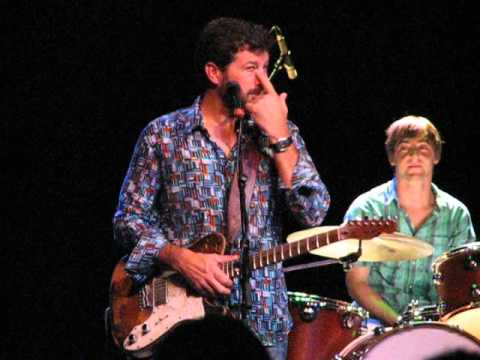 Tab Benoit, joking with audience at Rialto Theater, Tucson, 9/18/2012
