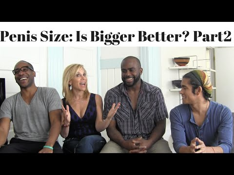 Penis Size - Is Bigger Better? Part 2 By Karenlee Poter (loveencore) video