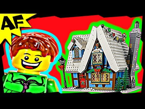 WINTER VILLAGE COTTAGE - Lego City Set 10229 Animated Building Review