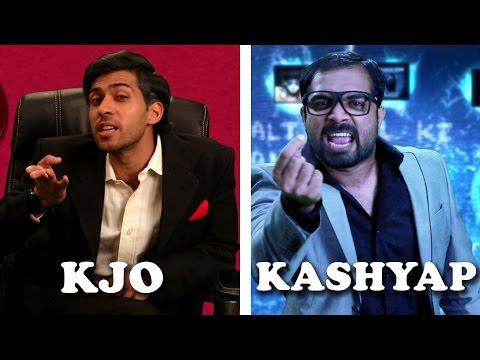 Karan Johar Vs Anurag Kashyap Rap Battle || Shudh Desi Raps