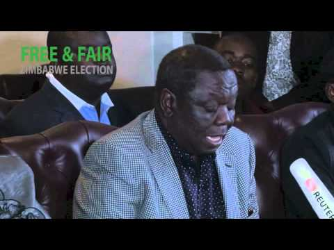 Zimbabwe Election Results MDC Press Conference