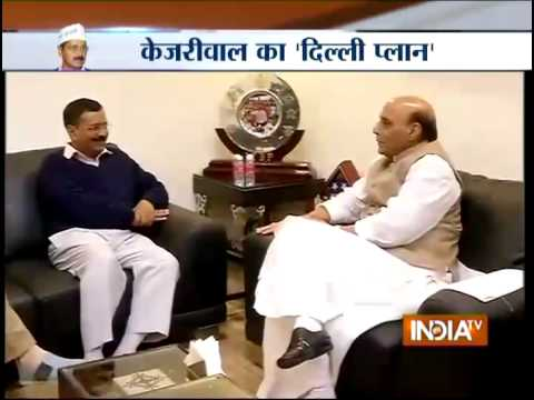 Arvind Kejriwal raises full-statehood issue with Home Minister Rajnath Singh