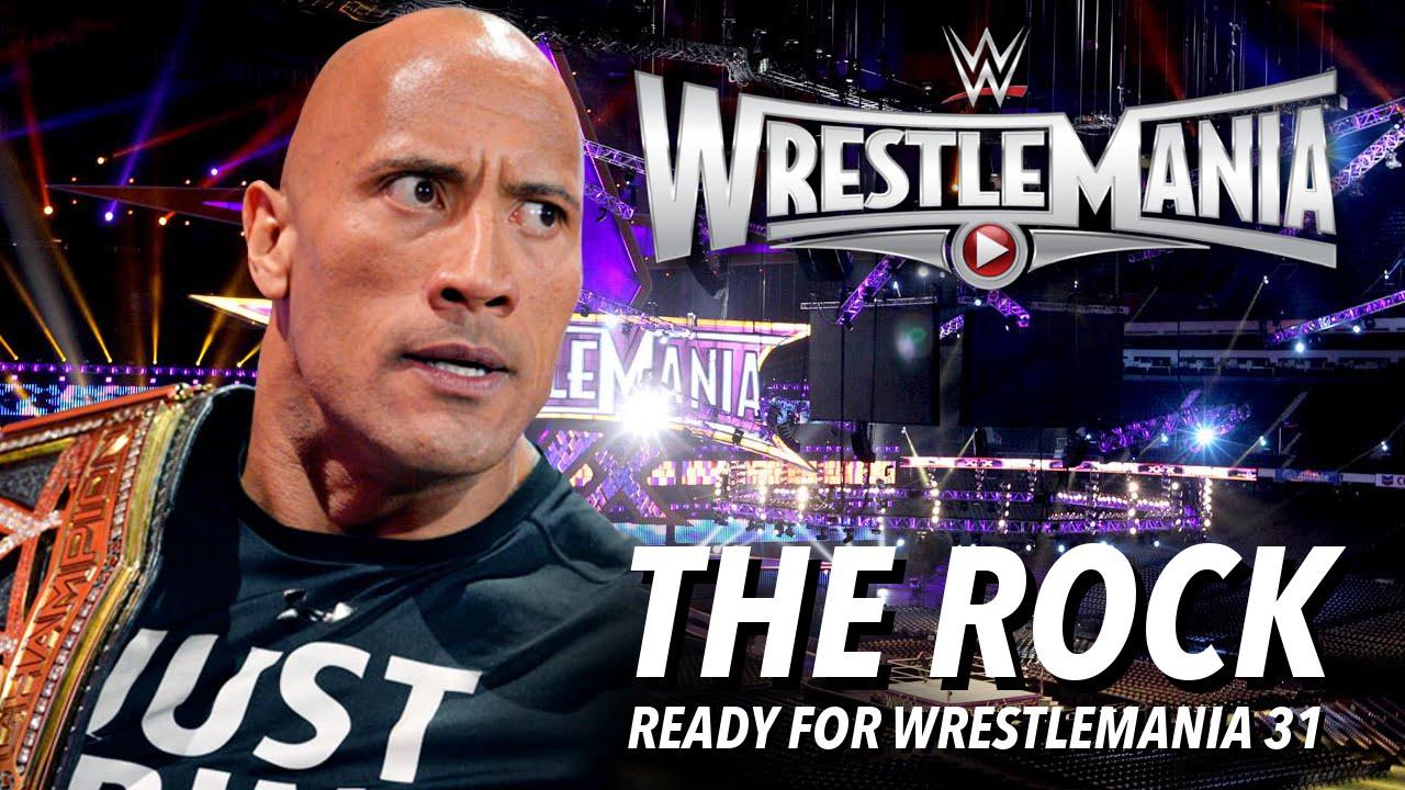 WWE WrestleMania 31 (2015) PPV HDTV
