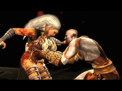 Mortal Kombat Komplete Kratos Test Your Luck Madness