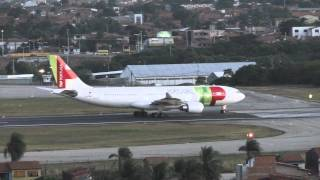 [Spotting Day TMA Fortaleza] Pouso Airbus A330-200 CS-TOO TAP Portugal 21/07/2012