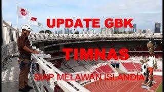 Keren Banget ! Update Stadion GBK Persiapan Timnas Melawan Islandia