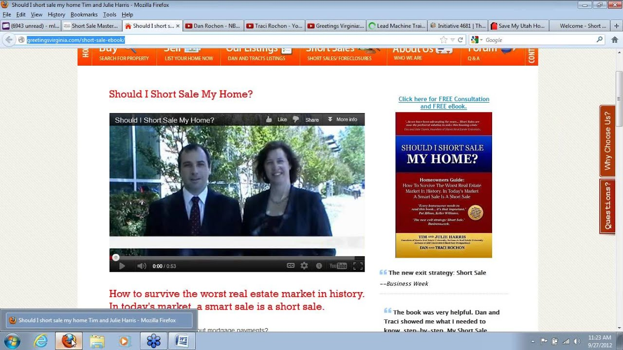 Brian Pitcher Dan Rochon Short Sale Mastermind Agent