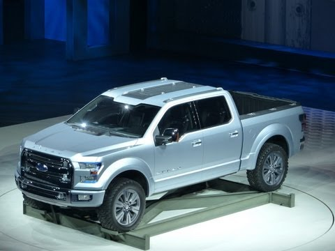 Watch the next Ford F150 Atlas Pickup Concept Debut at the Detroit Auto Show