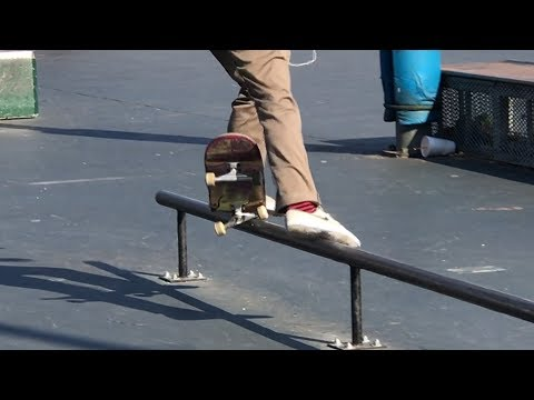 INSANE TRICK ON RAIL ??? Feat. Mihnea Groseanu - NKA VIDS -