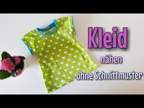 Sommer Kleid - Nähanleitung - OHNE Schnittmuster - Nähtinchen | Nähen