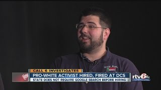 Pro-white activist hired, fired by DCS
