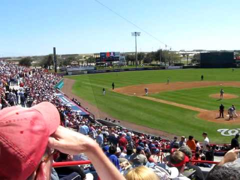 Space Coast Stadium is listed (or ranked) 9 on the list The Coolest Grapefruit League Spring Training Stadiums