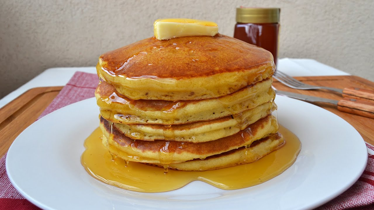 An American Pancake Recipe - Easy For All American Pancakes Recept
