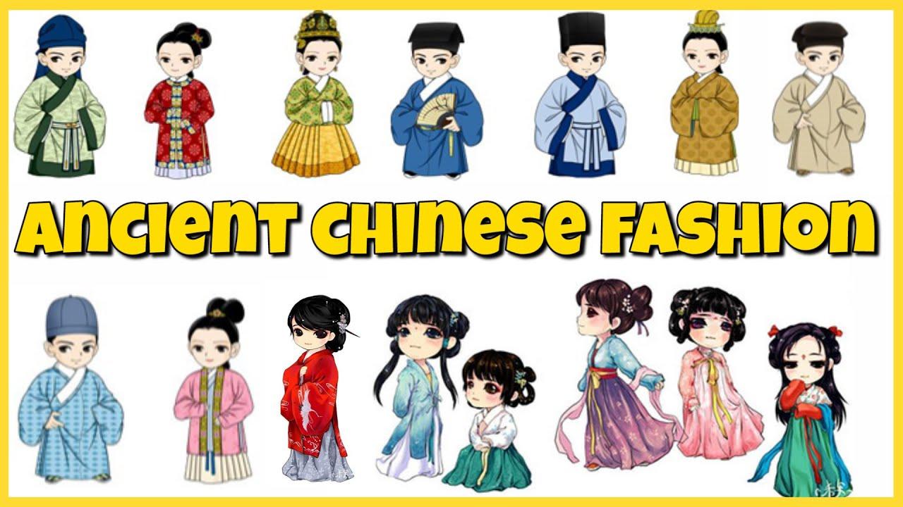 Ancient china fashion clothing 99