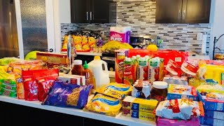 Weekly Grocery Haul For Family Of 6#COSTCO/SUPERSTORE/WALMART