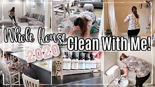 2020 WHOLE HOUSE CLEAN WITH ME :: ALL DAY SPEED CLEANING MOTIVATION + HOMEMAKING WITH ME