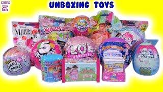 Pikmi LOL Surprizamals PJ Masks MOJ MOJ Min Minnie Mouse Surprise Dolls Toys Unboxing Blind Bags