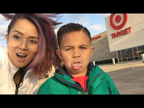 My son is a Savage 😮 Grocery shopping at Target!!