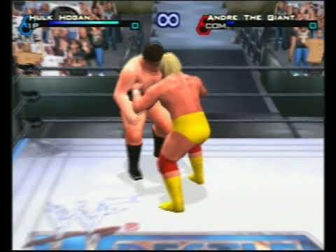 WWF Smackdown Just Bring it Hulk Hogan vs Andre the Giant thumbnail