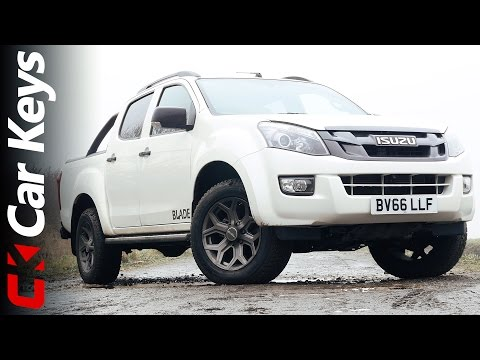 Isuzu D-Max 2017 Review - Tough And Capable, But Family Friendly Too? - Car Keys