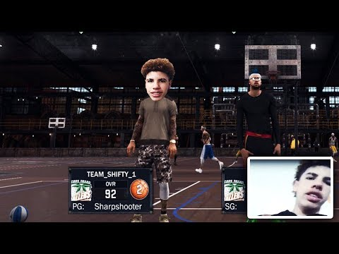 BEST SHOOTER CARRIES THE REAL LAMELO BALL! (NOT CLICKBAIT) #1 BALL IS LIFE PROSPECT PLAYS 2K17