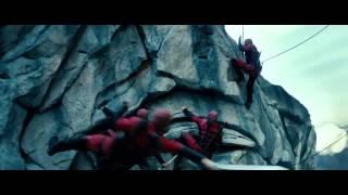 G.I. Joe Retaliation - Cliff sword fighting scene HD