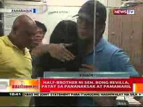 Ram Revilla stab and shoot to death by his own relative