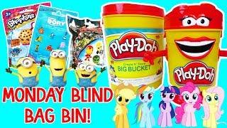 Play Foam Ice Cream Cups Surprise Eggs Disney Shopkins Mini Packs Surprise Toys