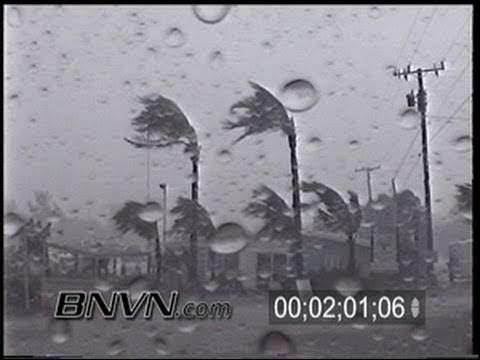 9/14/2001 Tropical Storm Gabrielle, Sarasota, FL Video