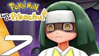 Pokemon Let's Go Pikachu - Gameplay Walkthrough Part 7 - Ghost Tower (Switch)