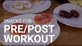 Ginas Cucina! ????????‍???? | Quick + Simple Pre and Post Workout Snacks