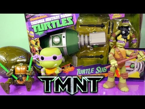 Teenage Mutant Ninja Turtles Donatello Full Episode Toys And Surprise Packs By Disney Cars Toy Club