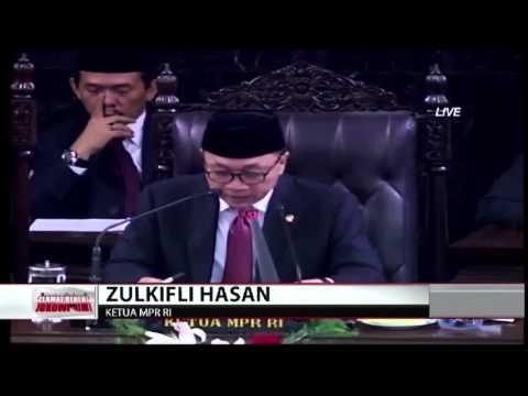 Indonesia Raya Mengawali Pemerintahan Baru video